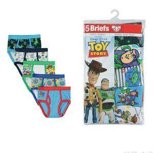 Disney Toy Story 4 Boy's 5-Pack Brief Underwear